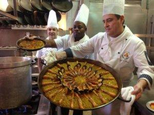 paella valencia espagne
